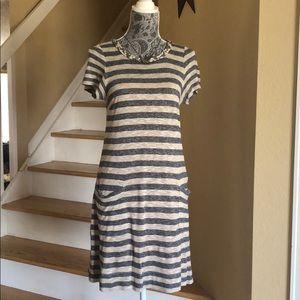 Marc by Marc Jacobs Pebble Stripe Jersey Dress